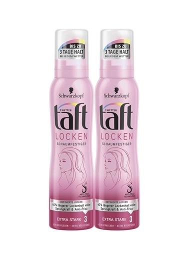 TAFT Taft Curl & Flex Köpük 150Ml X 2 Paket Renksiz